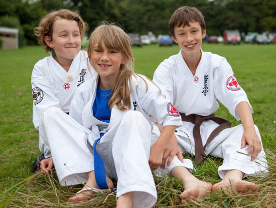 Sturry / Canterbury Karate Students